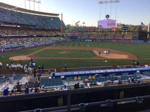 Dodger Stadium, sección: 128LG, fila: C, asiento: 7