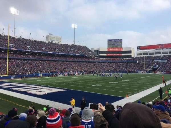 New Era Field, sección: 140, fila: 14, asiento: 6