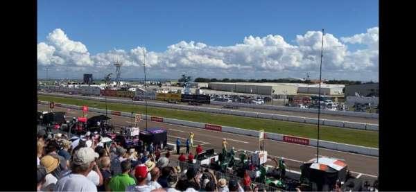 Indy Car Road Coarse St. Petersburg, sección: Grand Stand 7, fila: 25