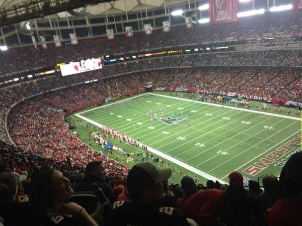 Georgia Dome, sección: 314, fila: 20, asiento: 21