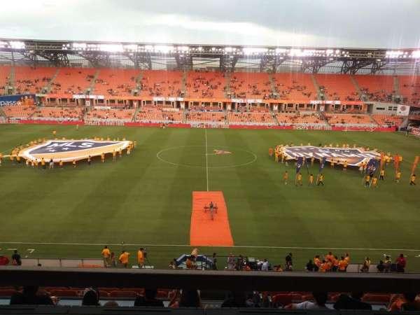 BBVA Stadium, sección: 206B, fila: A, asiento: 15