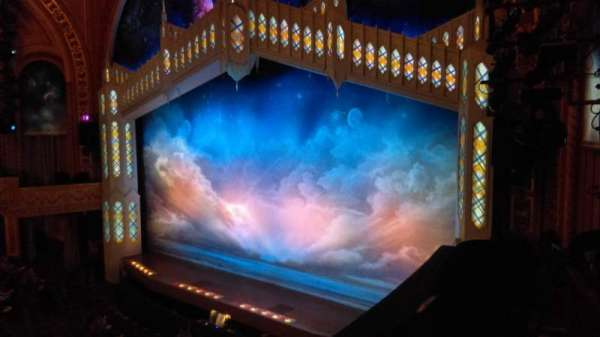Eugene O'Neill Theatre, sección: Mezzanine, fila: B, asiento: 28