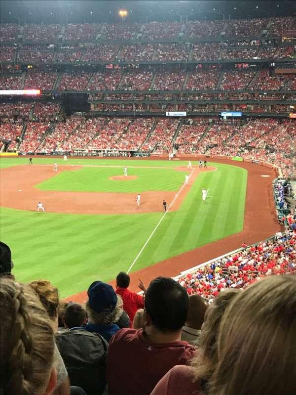 Busch Stadium, sección: 270, fila: 11, asiento: 6