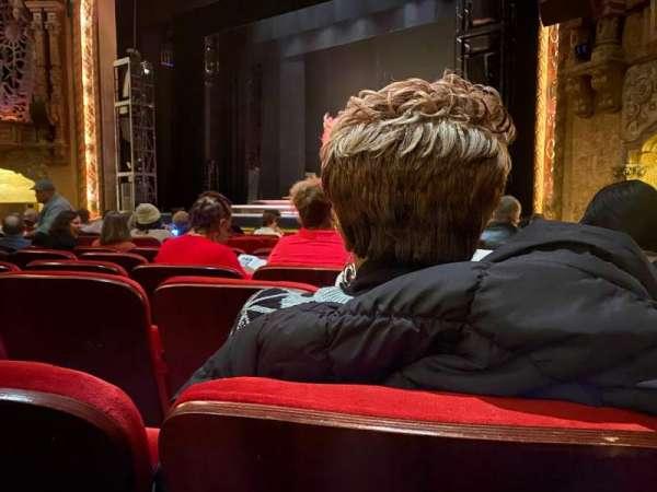 Coronado Performing Arts Center, sección: OR1, fila: L, asiento: 3