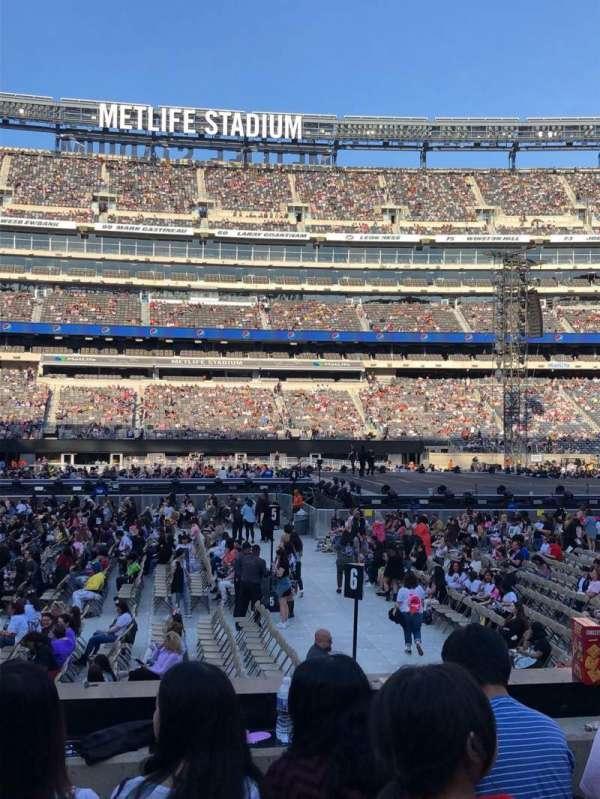 MetLife Stadium, sección: 139, fila: 9, asiento: 26