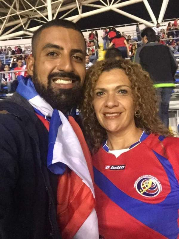 Estadio Nacional de Costa Rica, sección: Este bloque E, fila: M, asiento: 8