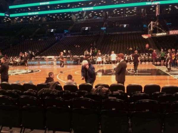Barclays Center, sección: 23, fila: 2, asiento: 8