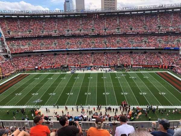 FirstEnergy Stadium, sección: 534, fila: 7, asiento: 8