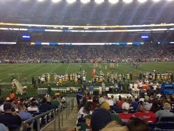 Gillette Stadium, sección: 132, fila: 18, asiento: 21