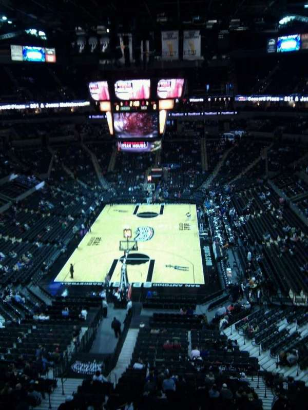 AT&T Center, sección: standing lvl2