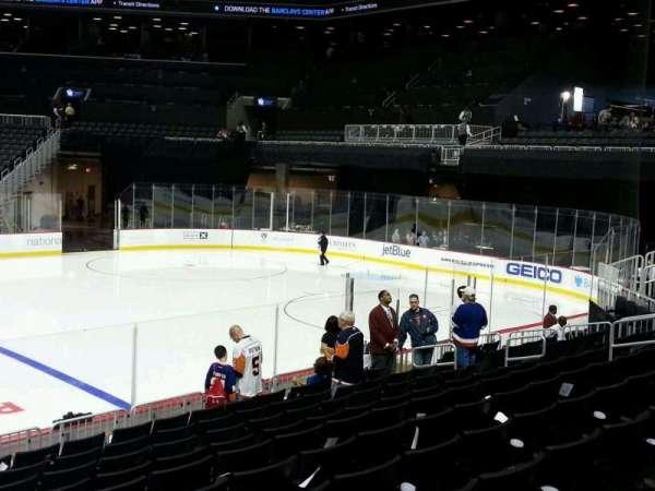 Barclays Center, sección: 7, fila: 13, asiento: 18
