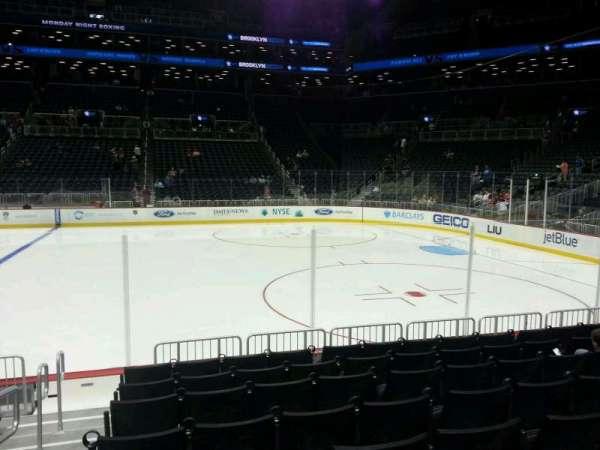 Barclays Center, sección: 23, fila: 5, asiento: 18
