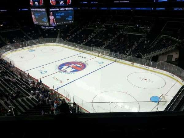 Barclays Center, sección: 203, fila: 4, asiento: 17