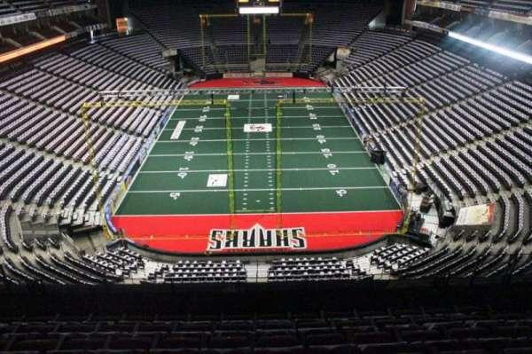 Jacksonville Veterans Memorial Arena, sección: 312, fila: F, asiento: 7