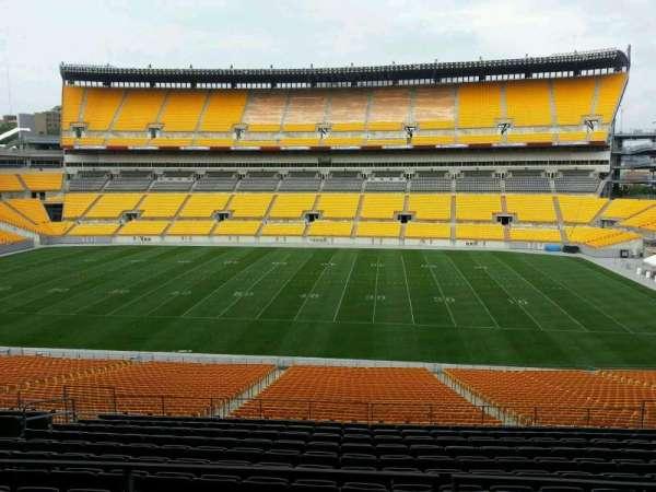 Heinz Field, sección: 236, fila: n, asiento: 8