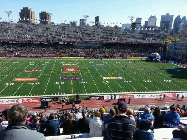 Percival Molson Memorial Stadium, sección: g2, fila: 10, asiento: 10