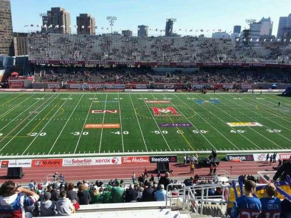 Percival Molson Memorial Stadium, sección: h2, fila: 9, asiento: 13