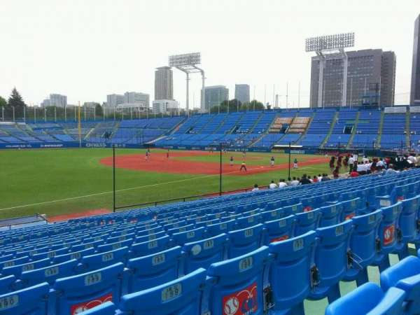 Jingu Stadium, sección: 12, fila: 25, asiento: 191
