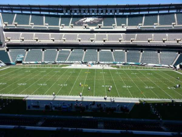 Lincoln Financial Field, sección: c1, fila: 9, asiento: 10