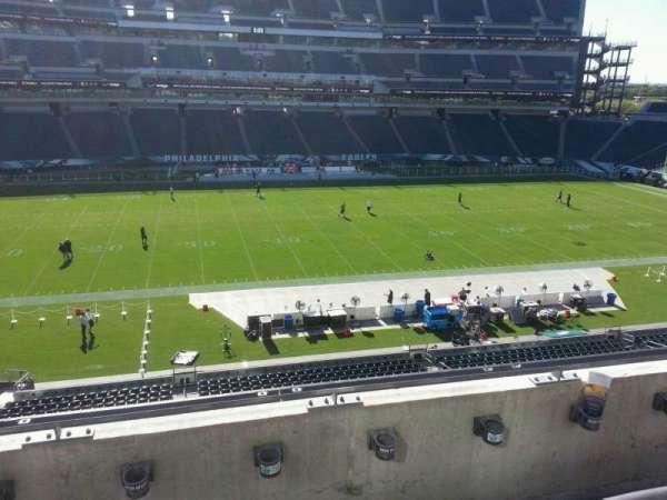 Lincoln Financial Field, sección: c20, fila: 3, asiento: 12