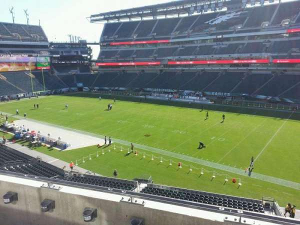 Lincoln Financial Field, sección: c26, fila: 3, asiento: 13