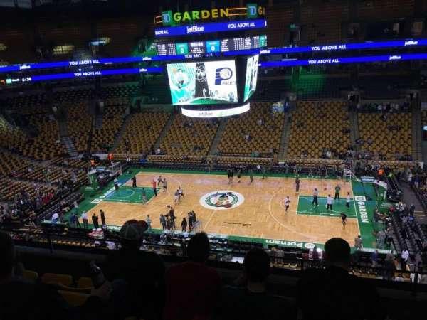 TD Garden, sección: Bal 330, fila: 5, asiento: 6