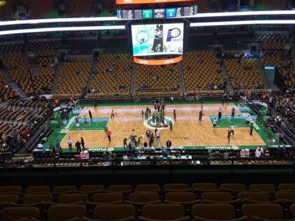 TD Garden, sección: Bal 301, fila: 6, asiento: 8
