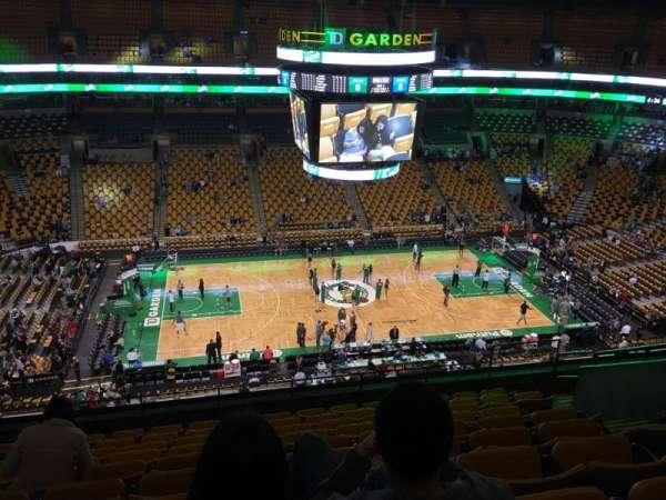 TD Garden, sección: Bal 302, fila: 10, asiento: 10