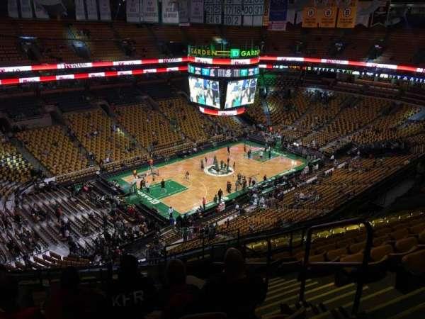 TD Garden, sección: Bal 305, fila: 15, asiento: 2