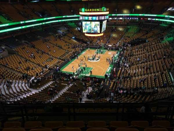 TD Garden, sección: Bal 307, fila: 11, asiento: 12