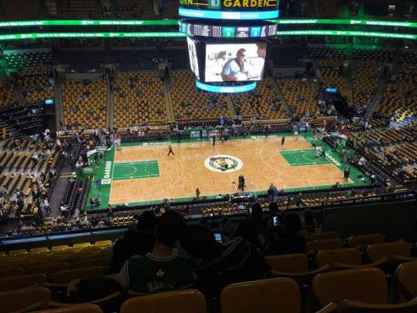 TD Garden, sección: Bal 317, fila: 11, asiento: 9