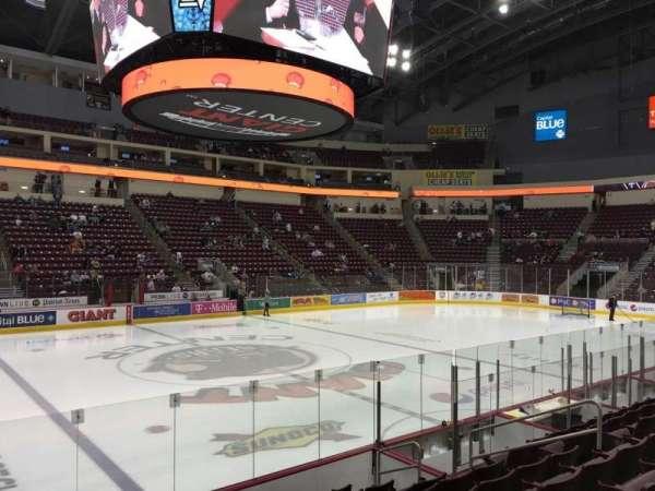 Giant Center, sección: 107, fila: J, asiento: 10