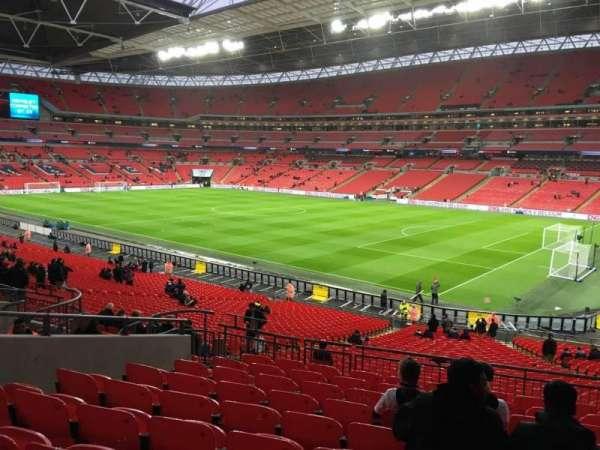 Wembley Stadium, sección: 117, fila: 40, asiento: 178