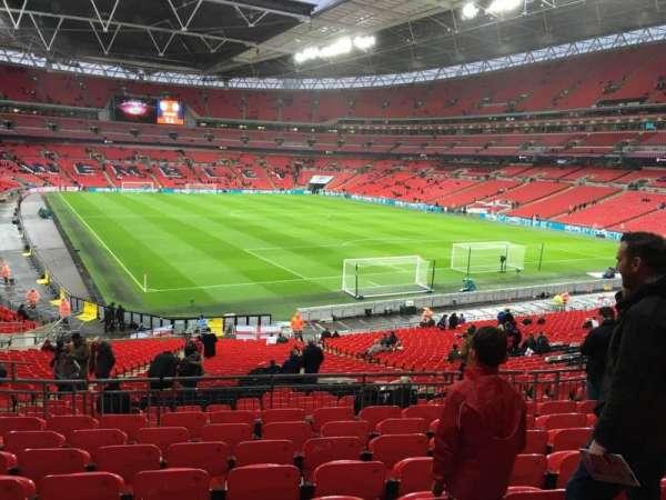 Wembley Stadium, sección: 114, fila: 39, asiento: 89