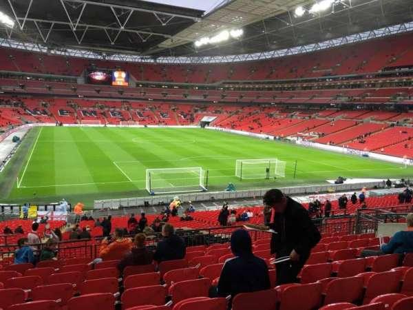 Wembley Stadium, sección: 113, fila: 40, asiento: 62