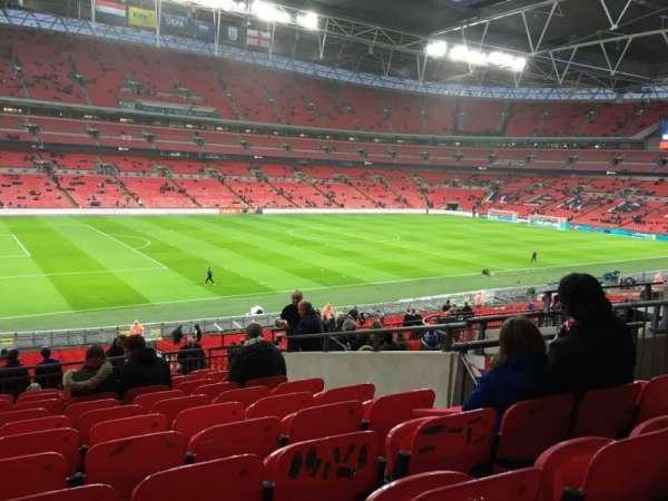 Wembley Stadium, sección: 105, fila: 41, asiento: 62
