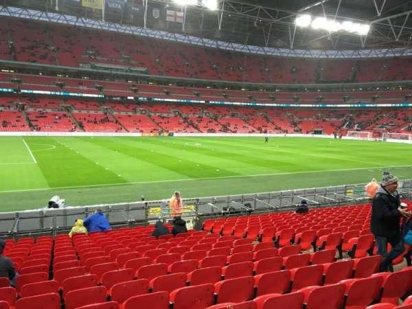 Wembley Stadium, sección: 105, fila: 17, asiento: 35