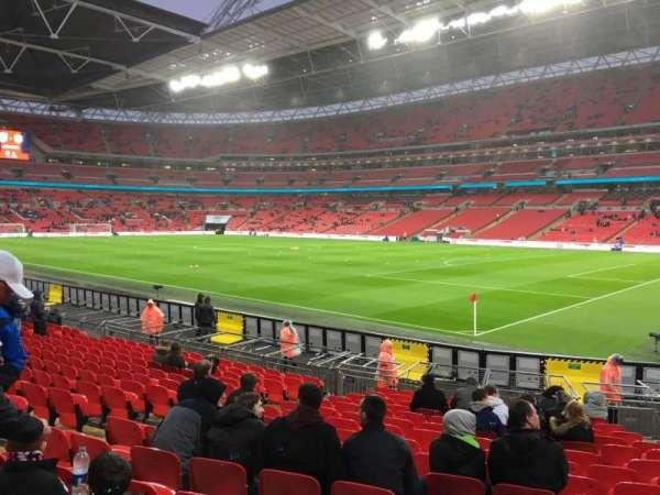 Wembley Stadium, sección: 118, fila: 16, asiento: 175