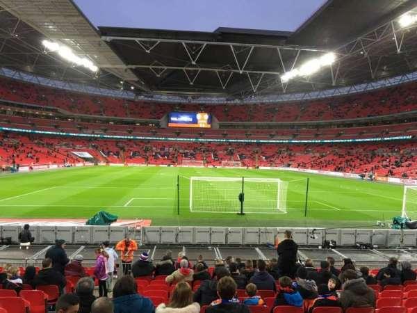 Wembley Stadium, sección: 133, fila: 16, asiento: 10