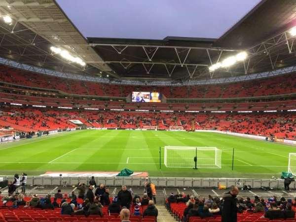 Wembley Stadium, sección: 134, fila: 25, asiento: 17