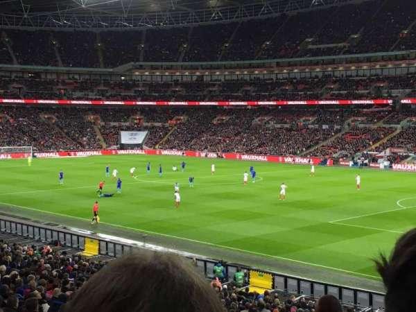 Wembley Stadium, sección: 118, fila: 32, asiento: 177