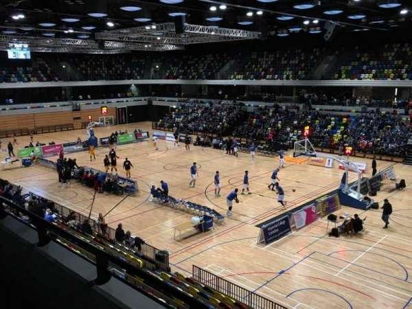 Copper Box Arena, sección: 202, fila: 12, asiento: 23