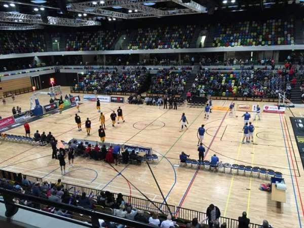 Copper Box Arena, sección: 203, fila: 12, asiento: 56