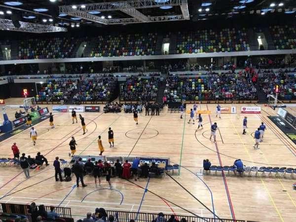 Copper Box Arena, sección: 204, fila: 12, asiento: 68