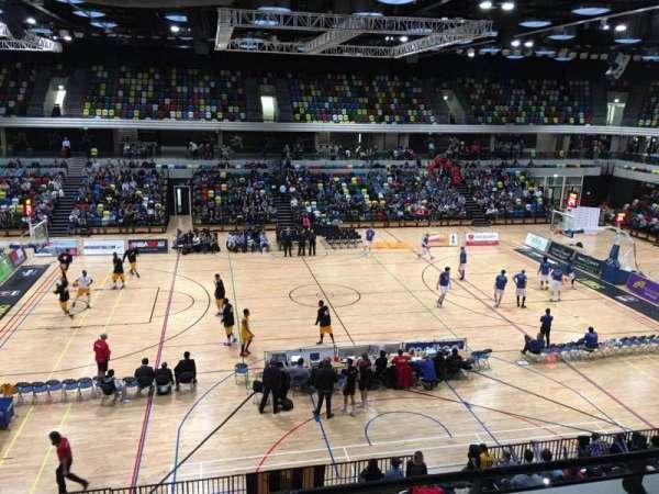 Copper Box Arena, sección: 204, fila: 13, asiento: 90