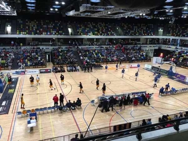 Copper Box Arena, sección: 205, fila: 13, asiento: 101