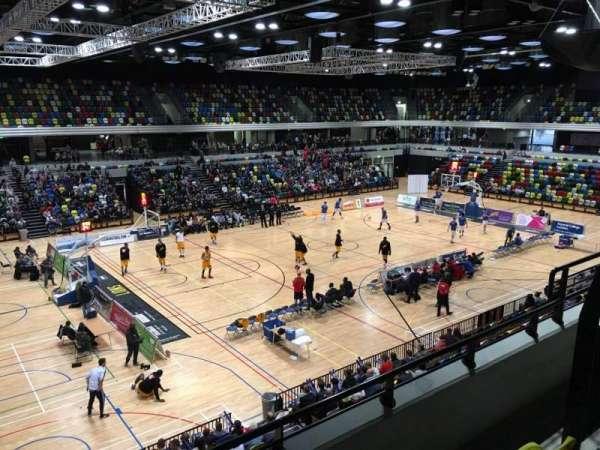 Copper Box Arena, sección: 205, fila: 13, asiento: 125
