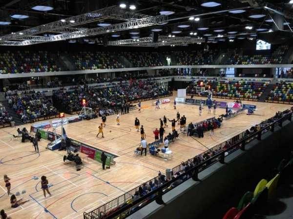 Copper Box Arena, sección: 206, fila: 13, asiento: 138