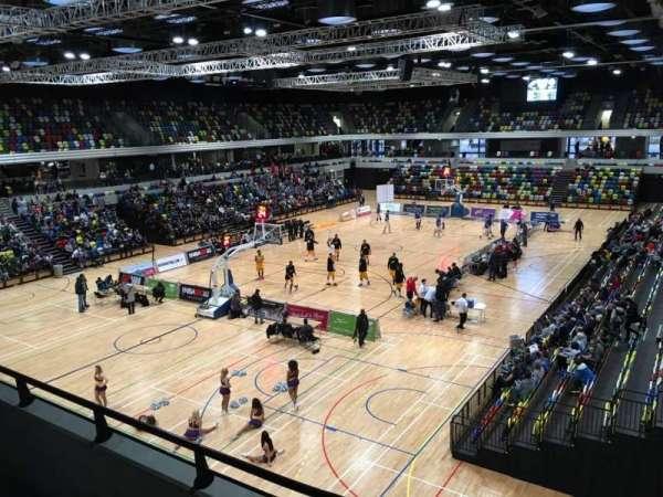Copper Box Arena, sección: 206, fila: 12, asiento: 15
