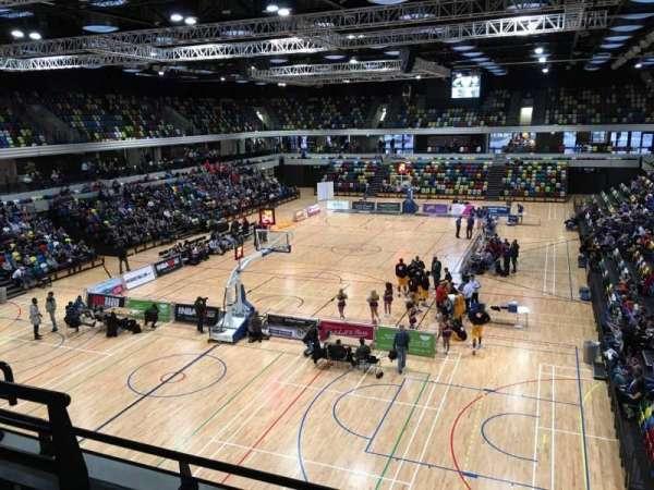 Copper Box Arena, sección: 207, fila: 13, asiento: 30